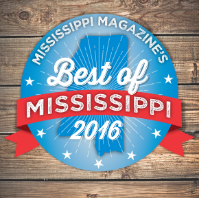 Best of 2016 Award from Mississippi Magazine for The Pig & Pint article link
