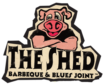 The Shed Barbecue and Blues Joint logo and website link_Ocean Springs MS